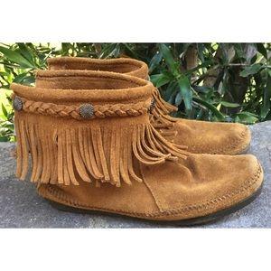 Minnetonka Shoes - Minnetonka Fringe Mocassins 8